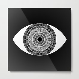 Stare Into The Abyss Metal Print