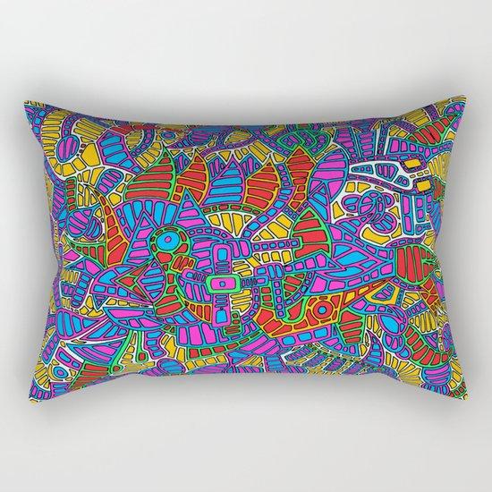 - summer mind - Rectangular Pillow