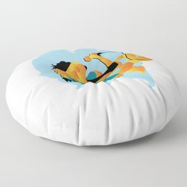 sound fire Floor Pillow