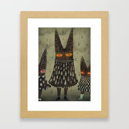 The Night Lurkers Framed Art Print