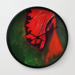 Libre verde Wall Clock