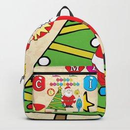 Santa & the Tree Backpack