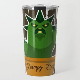 Cactus Grumpy Boy Travel Mug