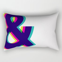 Ampersands Rectangular Pillow