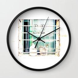 Bodegones encontrados (finding still life) Wall Clock