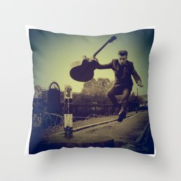 Das Fenster & the Alibis Throw Pillow