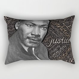 martin luther king Rectangular Pillow