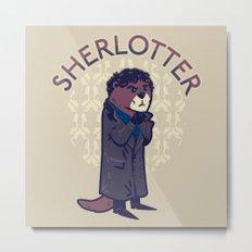 Sherlotter Metal Print