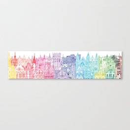 Belgium Towers  Canvas Print