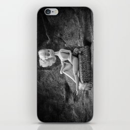 Girl and a Chaise Longue iPhone Skin