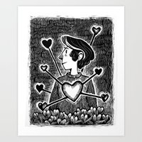 The Crush Art Print