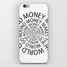 Money World iPhone & iPod Skin