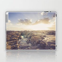 Golden hour, rocky beach Landscape - Photography #Society6 Laptop & iPad Skin