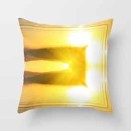 Archway to Heaven Throw Pillow