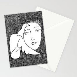 Picasso - Woman and dove Stationery Cards