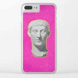 Emperor Constantine Rolling His Eyes Clear iPhone Case