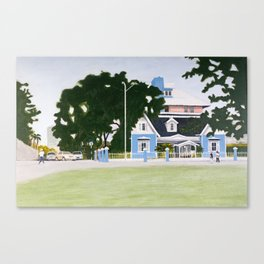 The George Brown House Canvas Print
