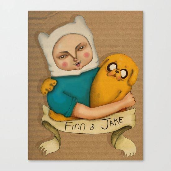 Adventures time! Canvas Print