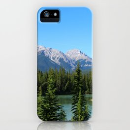 Along The Bow Valley Parkway iPhone Case