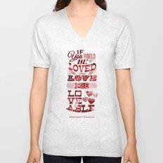 To Be Loved Unisex V-Neck