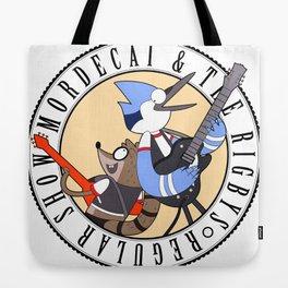 Mordecai and the Rigbys Tote Bag