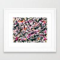 graffiti Framed Art Prints featuring graffiti by gasponce