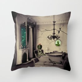 Ever Being, Always Seeing, Never Dying Throw Pillow