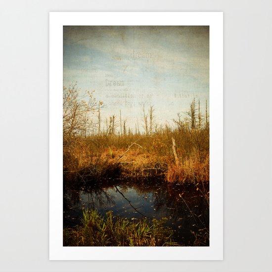 Wander in Nature Art Print