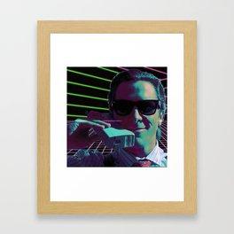 American Psycho calling Framed Art Print