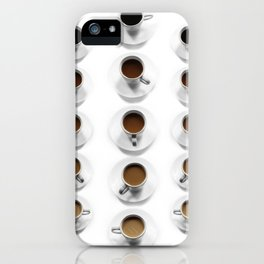 Shades of Coffee iPhone Case