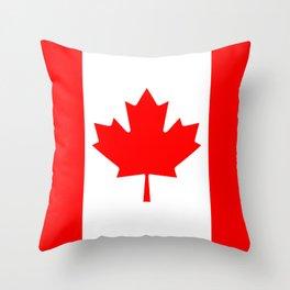 Flag of Canada - Canadian Flag Throw Pillow