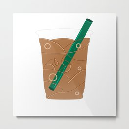 Frappuccino Metal Print