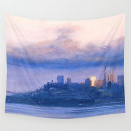 """Under the Fog"" Wall Tapestry"