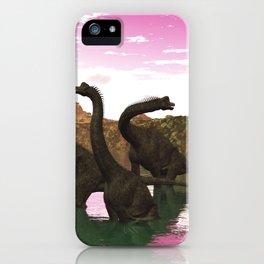Brachiosaurus iPhone Case