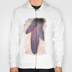 Feathered Blues Hoody