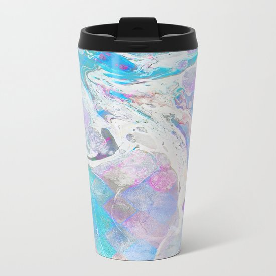 Messy Paint #society6 #decor #buyart Metal Travel Mug