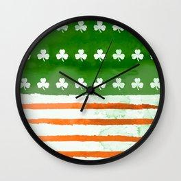 IrishAmerican Wall Clock
