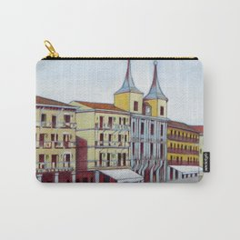 Postcard from Plaza Mayor, Segovia, Spain Carry-All Pouch