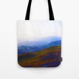 Land of Legends - Blue, Green and Purple Tote Bag