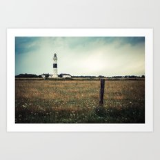 Lighthouse of Kampen II Art Print