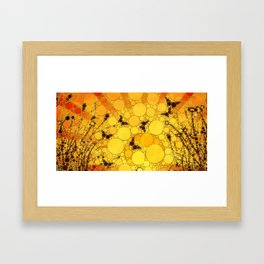 """Butterfly Sunset - from """"Further Back"""" series Framed Art Print"""