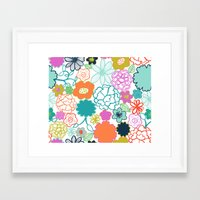 chelsea Framed Art Prints featuring Chelsea by Elephant & Rose
