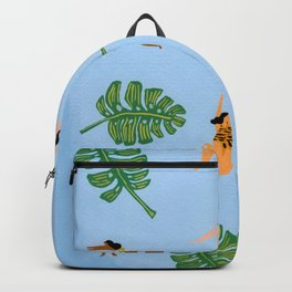 Floating in the sea Backpack