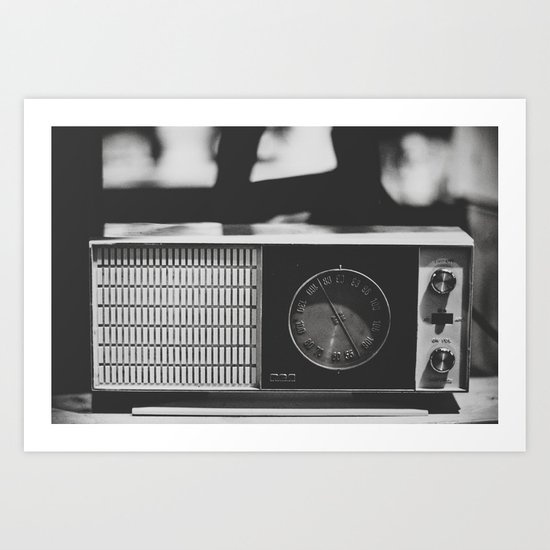 "104.1 ""Analog zine"" Art Print"
