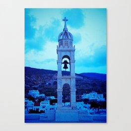 Pyrgos church bell Canvas Print