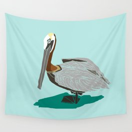 Mr. Pelican Wall Tapestry