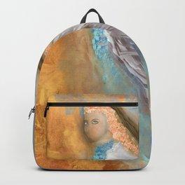 Blue-Eyed Angel Backpack