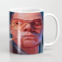 fear and loathing Mugs featuring Fear & Loathing by RileyStark