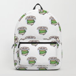 The Cozy Mystery Book Club Logo Backpack