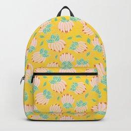 Blush Bloom Peony Lemon Backpack